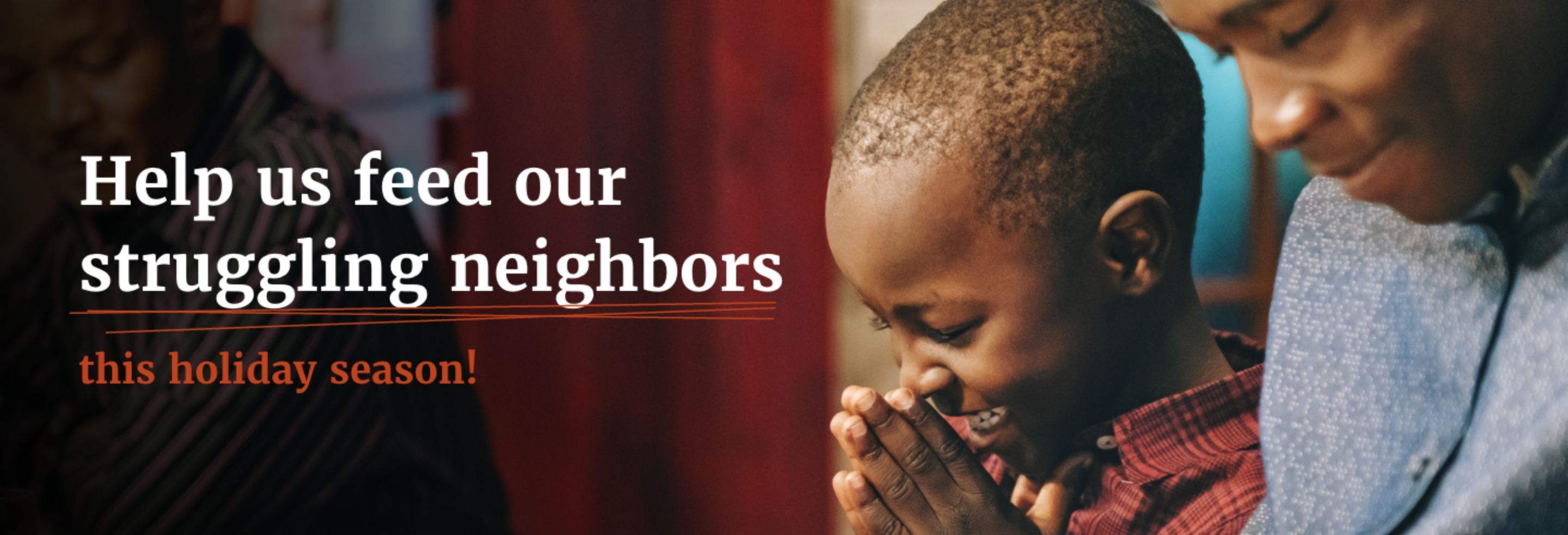 Help us feed our struggling neighbors this holiday season!